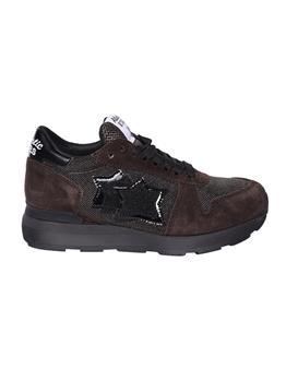 Sneaker atlantic star pelle MARRONE