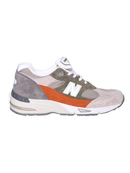 New balance 991 GREEN ORANGE