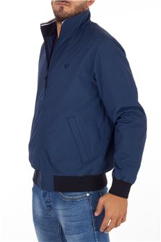Bomber fred perry micro dot BLU
