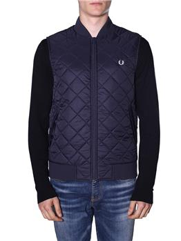 Gilet fred perry uomo BLU - gallery 2