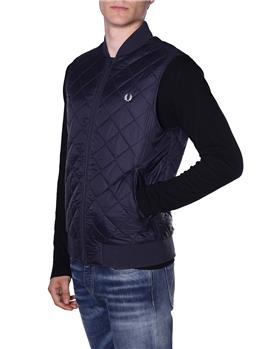 Gilet fred perry uomo BLU - gallery 3