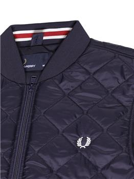 Gilet fred perry uomo BLU - gallery 5