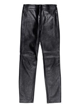 Pantalone manilagrace ecopelle NERO