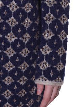 Maglia manila grace kimono BLU - gallery 3