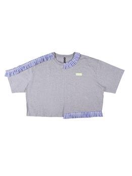 T-shirt manila grace over GRIGIO MELANGE