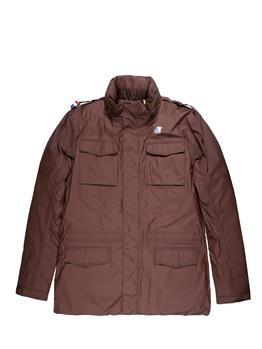 K-way field jacket uomo MARRONE Y9