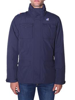 Field jacket k-way uomo BLUE DEPHT