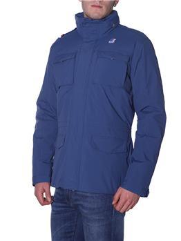 Field jacket uomo marmotta BLUE DEEP ANTRACITE