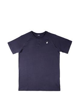T-shirt k-way classica uomo BLUE DEPHT