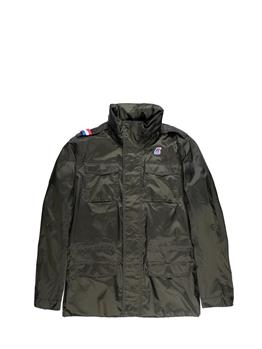 K-way field jacket jersey GREEN AFRICA