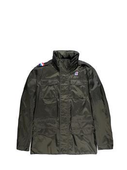 K-way field jacket jersey GREEN AFRICA