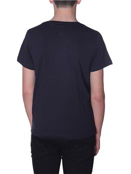 T-shirt k-way uomo classica BLACK