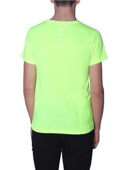 T-shirt k-way uomo classica YELLOW FLUO