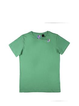 T-shirt k-way uomo classica GREEN MD