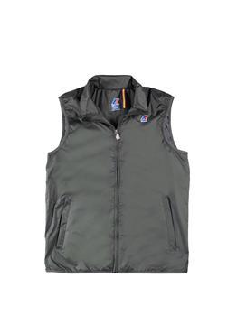 Gilet k-way jersey uomo BLACK TORBA