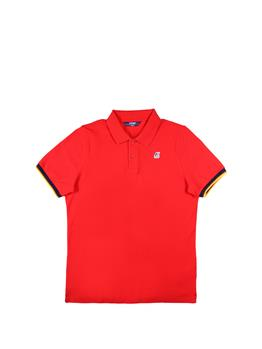 Polo k-way vincent classica RED
