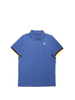 Polo k-way classica stretch BLUE RIVIERA