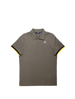 Polo k-way classica stretch GREEN OLIVE