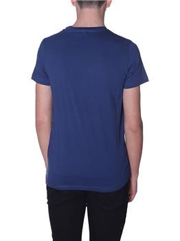 T-shirt k-way uomo taschino BLUE OTTANIO