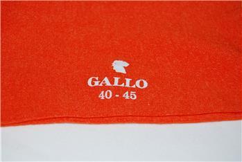 Calza gallo tallone bicolore ZUCCA