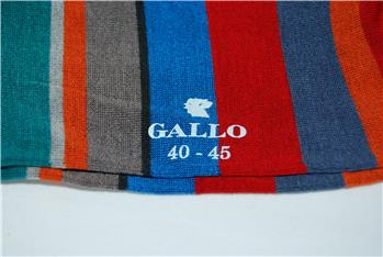 Calza gallo riga superleggera PAPAVERO