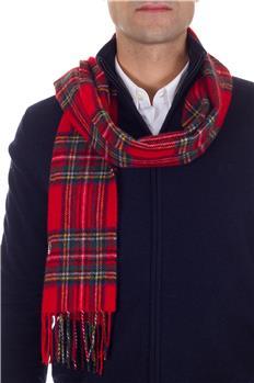 Sciarpa fred perry scozzese ROSSO