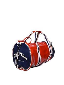 Borsa fred perry classica TARTAN RED NAVY
