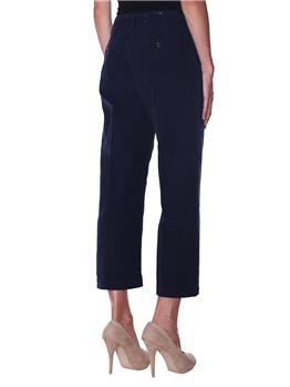 Pantalone roy rogers velluto BLU - gallery 3