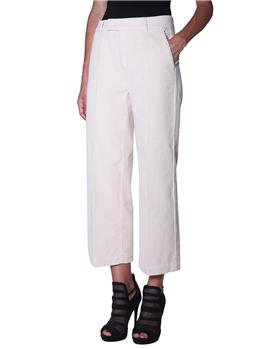 Pantalone roy rogers velluto BEIGE