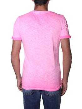 T-shirt superdry uomo classica DEEP POP PINK