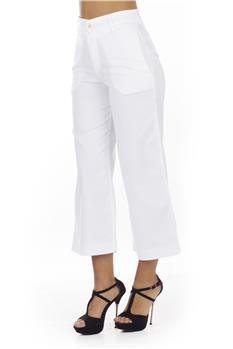 Pantalone latino' donna BIANCO