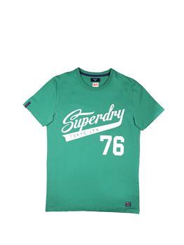 T-shirt superdry collegiate OREPOU GREEN