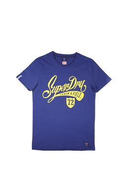 T-shirt superdry collegiate SUPERMARINE NAVY