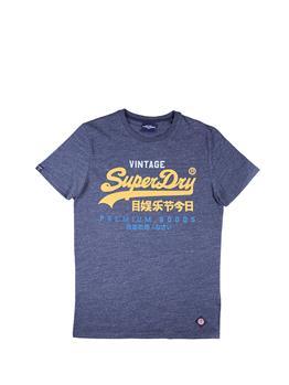 T-shirt superdry tri tee NAVY MARL