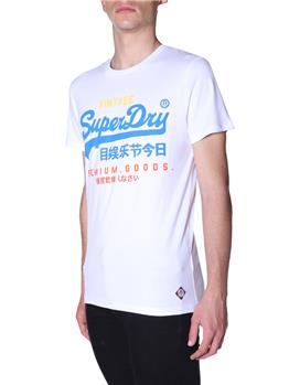 T-shirt superdry tri tee OPTIC