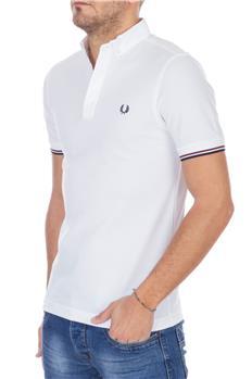 Fred perry polo camicia BIANCO