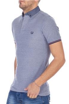 Fred perry polo camicia GRIGIO