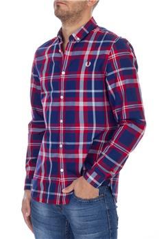 Camicia fred perry uomo ROSSO