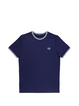 T-shirt fred perry uomo CARBON BLUE