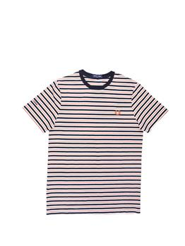 T-shirt fred perry classica SNOW WHITE