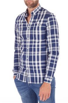 Fred perry camicia quadri BLU
