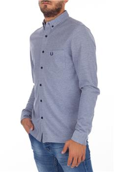 Polo camicia fred perry oxford GRIGIO