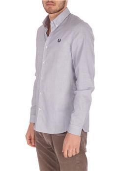 Camicia fred perry uomo BIANCO E BLU