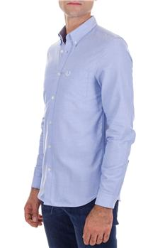 Camicia fred perry oxford CELESTE CHIARO