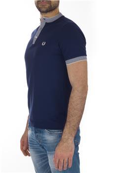 T-shirt fred perry coreana BLU