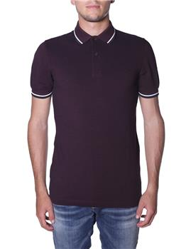 Polo fred perry mezza manica BORDEAUX Y7