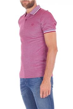 Fred perry polo classica ROSA MELANGE
