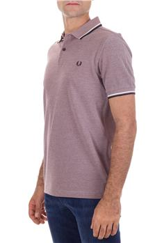 Polo fred perry mezza manica BORDEAUX