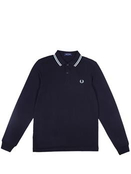 Polo fred perry manica lunga NAVY