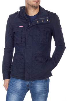 Superdry field jacket cotone BLU